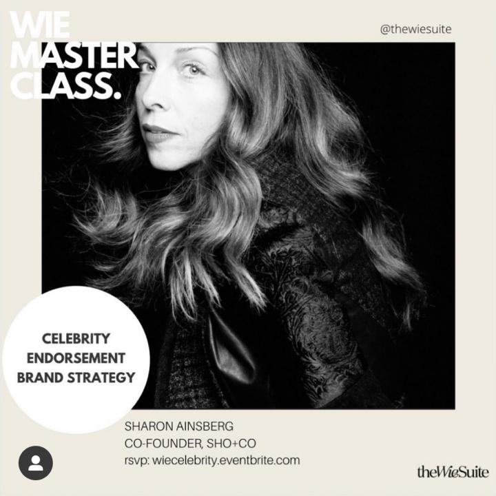 WIE Masterclass: Celebrity Endorsement Brand Strategy